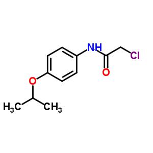 2-chloro-N-[4-(propan-2-yloxy)phenyl]acetamide