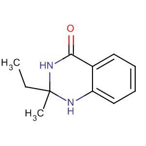 4(1H)-Quinazolinone, 2-ethyl-2,3-dihydro-2-methyl-