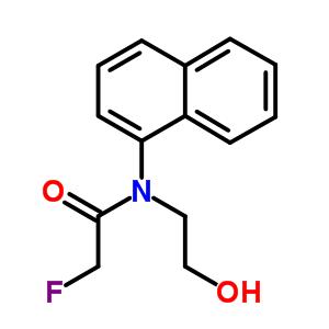 2-fluoro-N-(2-hydroxyethyl)-N-(naphthalen-1-yl)acetamide