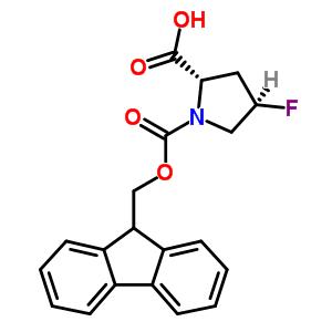(4R)-1-[(9H-fluoren-9-ylmethoxy)carbonyl]-4-fluoro-L-proline
