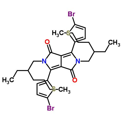 3,6-Bis(5-bromo-2-thienyl)-2,5-bis(2-ethylhexyl)-2,5-dihydropyrrolo[3,4-c]pyrrole-1,4-dione
