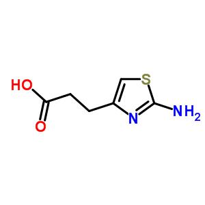 3-(2-amino-1,3-thiazol-4-yl)propanoic acid