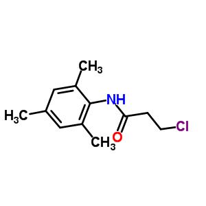 3-chloro-N-(2,4,6-trimethylphenyl)propanamide