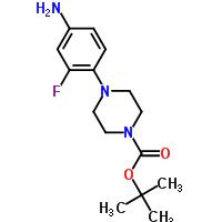 4-(4-Boc-piperazin-1-yl)-3-fluoroaniline