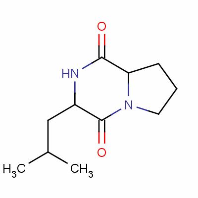 (3S-trans)-hexahydro-3-isobutylpyrrolo[1,2-a]pyrazine-1,4-dione
