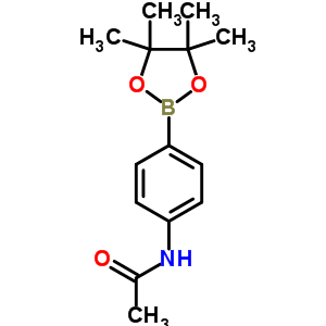 N-[4-(4,4,5,5-tetramethyl-1,3,2-dioxaborolan-2-yl)phenyl]acetamide