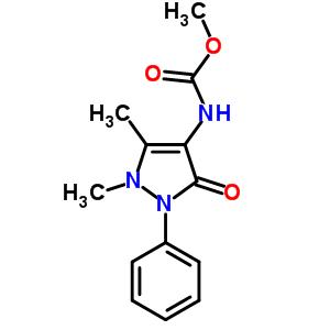 methyl (1,5-dimethyl-3-oxo-2-phenyl-2,3-dihydro-1H-pyrazol-4-yl)carbamate