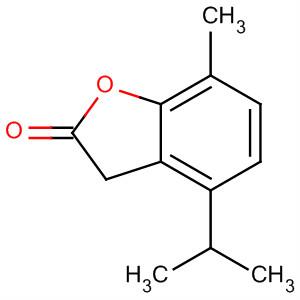 3(2H)-Benzofuranone, 4-methyl-7-(1-methylethyl)-