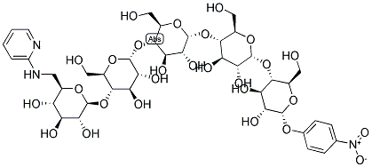 4-nph-6-deoxy-6-(2-pyridylamino)-alpha-penta-(1->4)glucopy