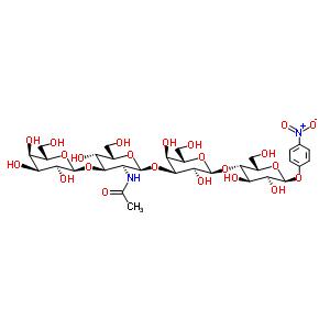 N-[(2S,3S,4R,5S,6S)-2-[(2S,3S,4S,5S,6S)-2-[(2S,3S,4R,5S,6S)-4,5-dihydroxy-2-(hydroxymethyl)-6-(4-nitrophenoxy)tetrahydropyran-3-yl]oxy-3,5-dihydroxy-6-(hydroxymethyl)tetrahydropyran-4-yl]oxy-5-hydroxy-6-(hydroxymethyl)-4-[(2R,3S,4S,5R,6S)-3,4,5-trihydroxy