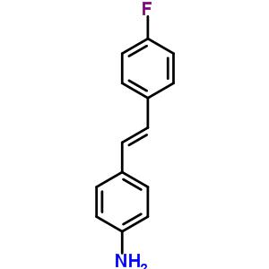 4-[(E)-2-(4-fluorophenyl)ethenyl]aniline