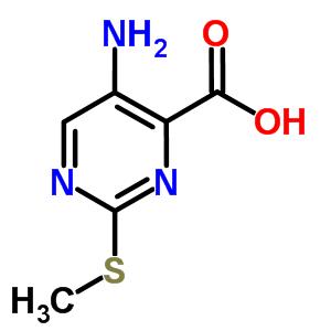 5-amino-2-(methylsulfanyl)pyrimidine-4-carboxylic acid