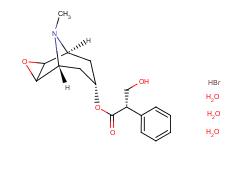 Scopolamine hydrobromide trihydrate