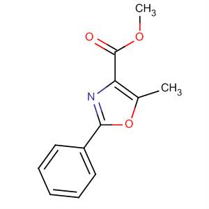 4-Oxazolecarboxylic acid, 5-methyl-2-phenyl-, methyl ester
