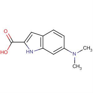 1H-Indole-2-carboxylic acid, 6-(dimethylamino)-