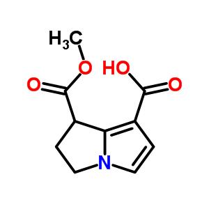1-(methoxycarbonyl)-2,3-dihydro-1H-pyrrolizine-7-carboxylic acid