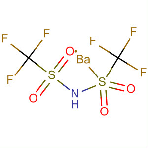 Methanesulfonamide, 1,1,1-trifluoro-N-[(trifluoromethyl)sulfonyl]-, bariumsalt