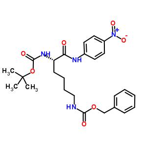 tert-butyl N-[(1S)-5-benzyloxycarbonylamino-1-[(4-nitrophenyl)carbamoyl]pentyl]carbamate