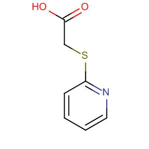 Acetic acid, (2-pyridinylthio)-
