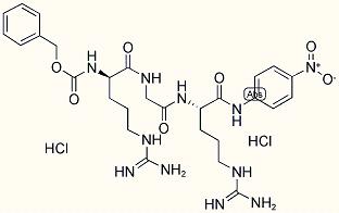 Z-D-ARG-GLY-ARG-PNA 2 HCL