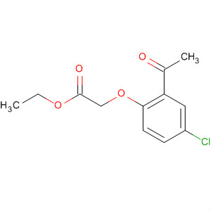 Acetic acid, (2-acetyl-4-chlorophenoxy)-, ethyl ester