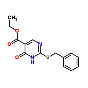 ethyl 2-(benzylsulfanyl)-6-oxo-1,6-dihydropyrimidine-5-carboxylate