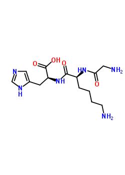 glycyl-L-lysyl-L-histidine