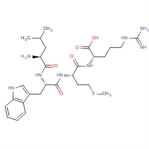 L-Arginine, L-leucyl-L-tryptophyl-L-methionyl-