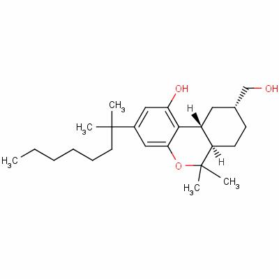 11-hydroxy-3-(1',1'-dimethylheptyl)hexahydrocannabinol