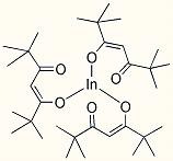 Tris(2,2,6,6-tetramethyl-3,5-heptane-dionato)indium