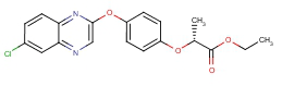 Ethyl (R)-2-[4-(6-chloroquinoxalin-2-yloxy)phenoxy]propionate