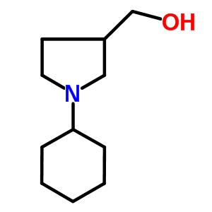 (1-cyclohexylpyrrolidin-3-yl)methanol