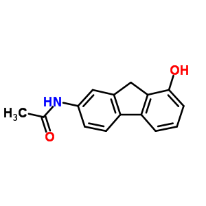 N-(8-hydroxy-9H-fluoren-2-yl)acetamide