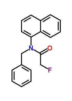 N-benzyl-2-fluoro-N-(naphthalen-1-yl)acetamide