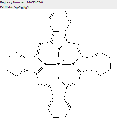 Nickel, [29H,31H-phthalocyaninato(2-)-κN29,κN30,κN31,κN32]-, (SP-4-1)-