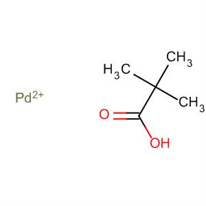 Propanoic acid, 2,2-dimethyl-, palladium(2+) salt
