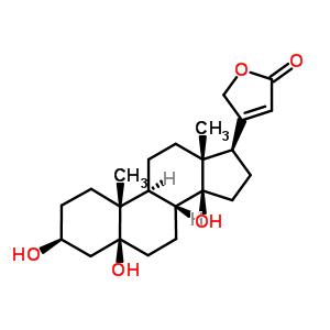 (3beta,5beta)-3,5,14-trihydroxycard-20(22)-enolide