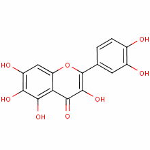 2-(3,4-dihydroxyphenyl)-3,5,6,7-tetrahydroxy-4-benzopyrone