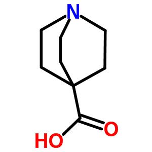 1-azabicyclo[2.2.2]octane-4-carboxylic acid