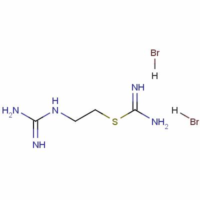 2-(diaminomethylideneamino)ethylsulfanylmethanimidamide dihydrobromide