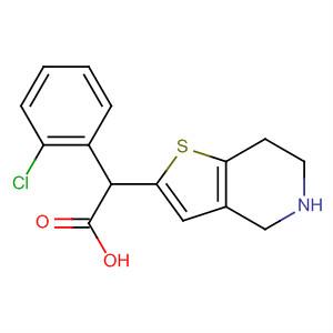 Thieno[3,2-c]pyridine-5(4H)-acetic acid,a-(2-chlorophenyl)-6,7-dihydro-