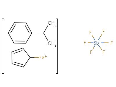 (η-cumene)-(η-cyclopentadienyl)iron(II) hexafluoroantimonate