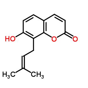 7-hydroxy-8-(3-methylbut-2-en-1-yl)-2H-chromen-2-one