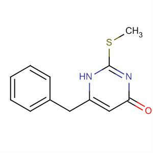 4(1H)-Pyrimidinone, 2-(methylthio)-6-(phenylmethyl)-