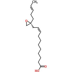 (9Z)-11-{(2R)-2-[(3E)-pent-3-en-1-yl]oxiran-2-yl}undec-9-enoic acid