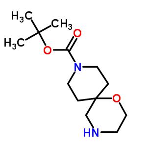 tert-butyl 11-oxa-3,8-diazaspiro[5.5]undecane-3-carboxylate