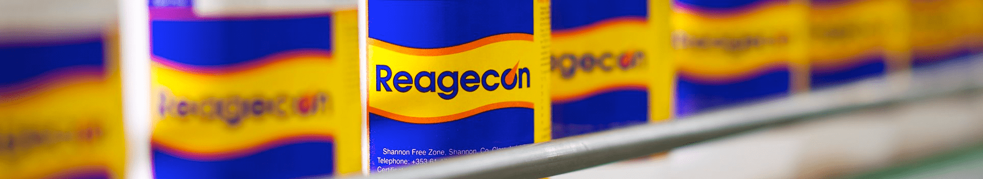 Reagecon physicochemical standards and laboratory reagents