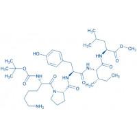 Boc-(Lys)-Neurotensin (9-13)-methyl ester hydrochloride salt Boc-Lys-Pro-Tyr-Ile-Leu-OMe hydrochloride salt