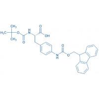 Boc-p-amino-Phe(Fmoc)-OH