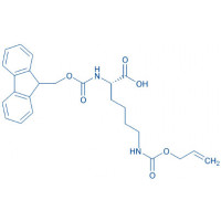 Fmoc-Lys(Aloc)-OH
